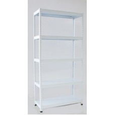 'SMAR' 2 In 1 D.I.Y Metal Shelving Rack  ( 5 Levels )