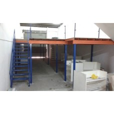 'SMART' Heavy Duty Racking System With Top Flooring