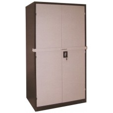 Full Height Steel Cupboard With Steel Swing Door + Lock Bar
