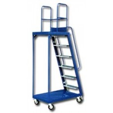 'SMART' Ladder Trolley Series  ( Height 6'  -  10' )
