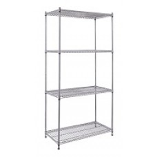Chrome Display Rack  -  4 Levels